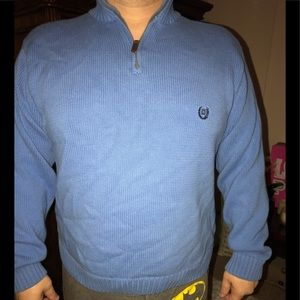 Chaps 2XL sweater with zip up collar.